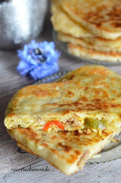 Meloui Farci Viande Hachée Recette Ramadan Cuisine Facile