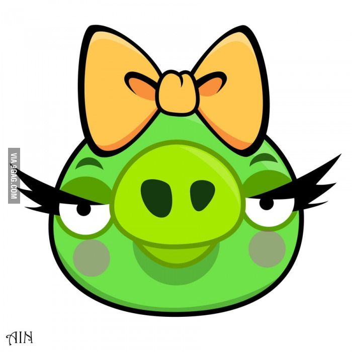 angry bird girl pig angry birds bird party and birthday party ideas rh pinterest com