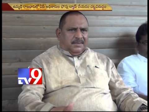 KCR has no right to interfere in AP affairs -Minister Chinna Rajappa