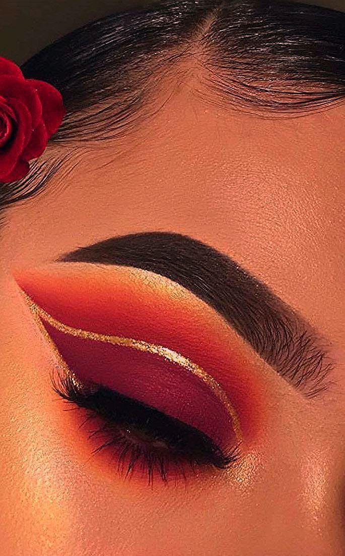 Photo of DIY Augen Make-up Funkelnde Magie Gold Glitter – My Blog