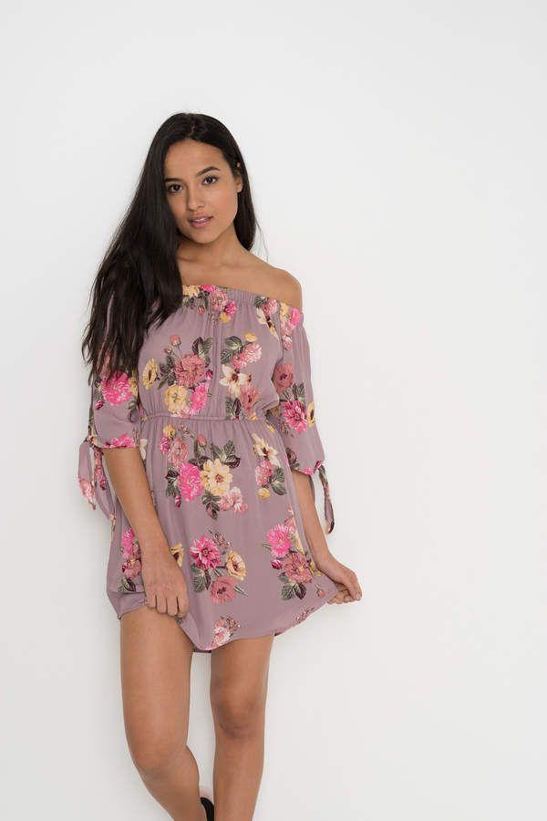 b2d3bf5ceb363 Ardene Off Shoulder Floral Dress
