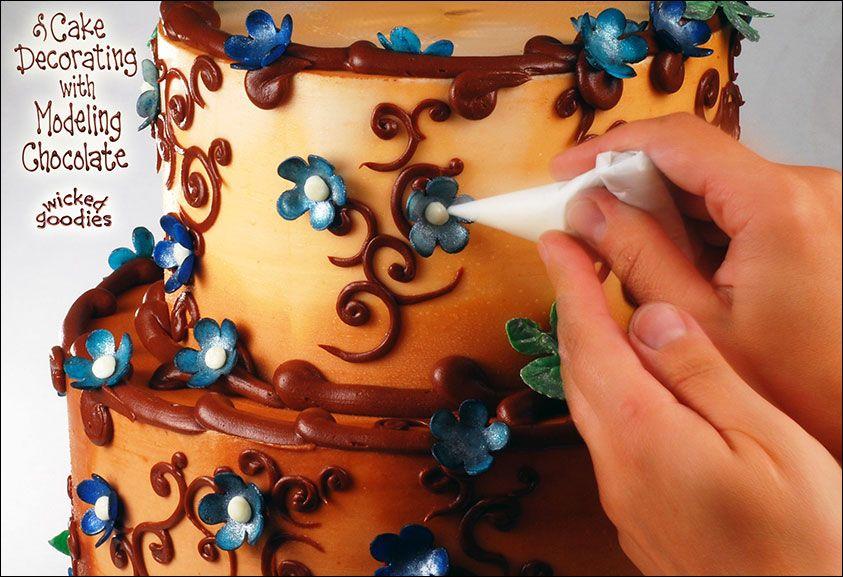 Cake Decorating with Modeling Chocolate Chocolate ...