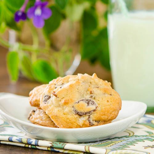 Coconut Pecan Chocolate Chip Cookies. ☀CQ #southern #recipes