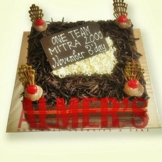 Bday cake isi Cake Coklat Lapis Surabaya more info Almerss