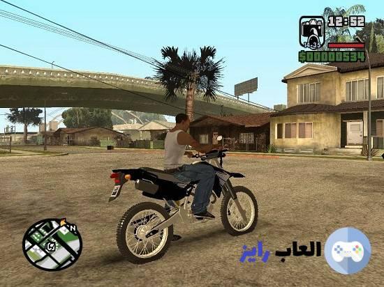 جاتا سان اندرس النسخة المفضلة لدي الجميع من لعبة جاتا الان لعبة Gta San Andreas تنزيل جاتا سان اندرس كاملة للكمبيوتر والاندرويد والاي Moped Vehicles Motorcycle