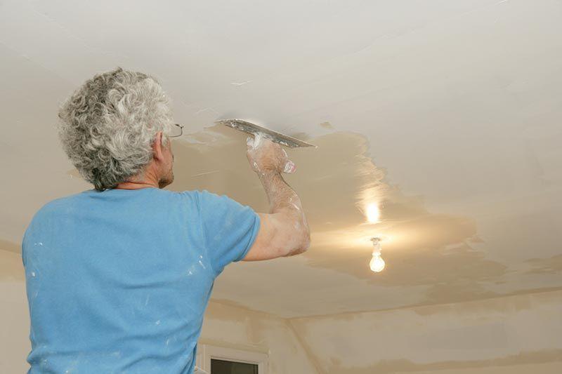 Comment Enduire Un Plafond Enduit Plafond Peindre Un Plafond