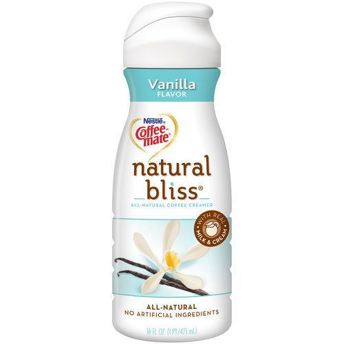 Nestle Coffee-Mate Natural Bliss Vanilla Flavor Coffee