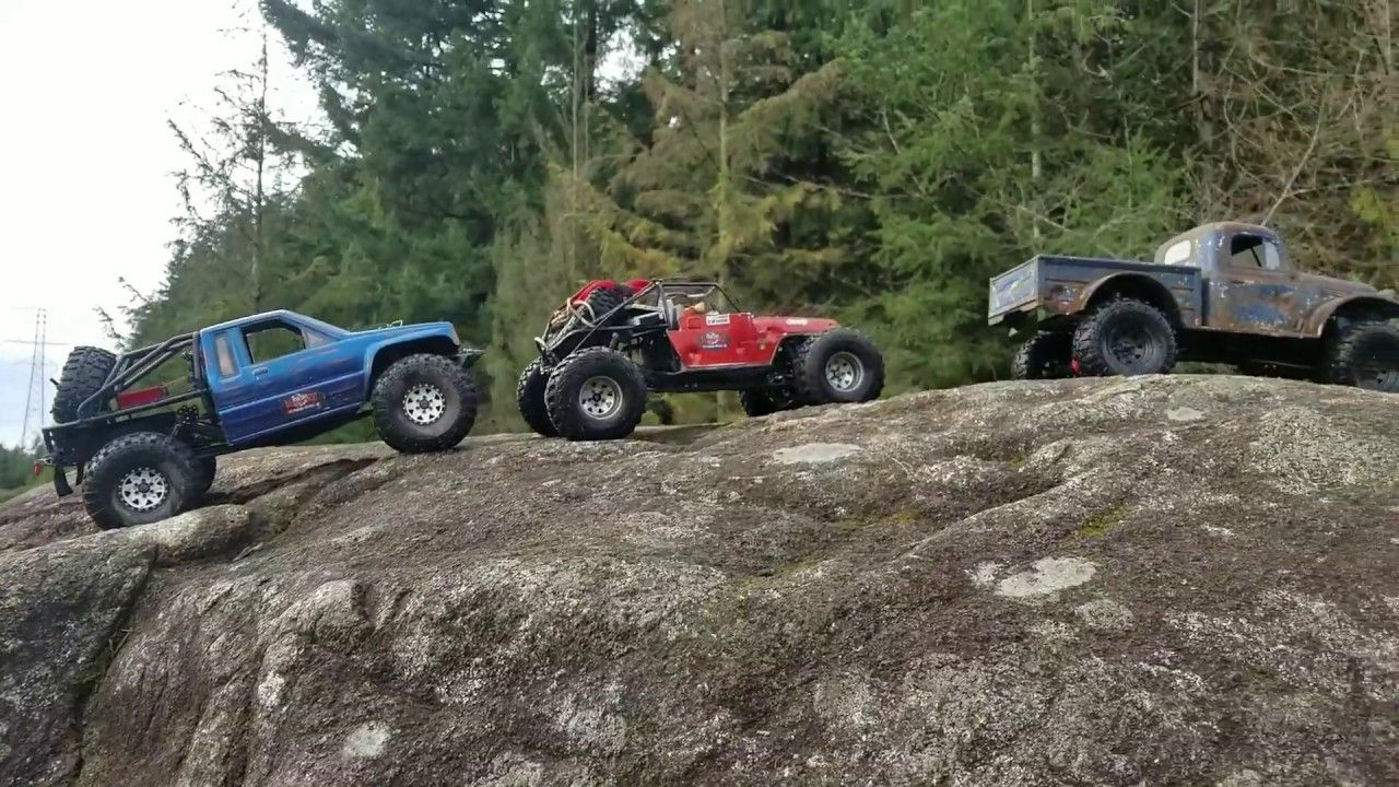 Testing over drive gears in my Trx4 Sport  Jeep yj and Dodge