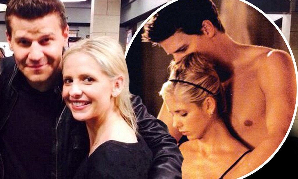 Sarah Michelle Gellar reunites with David Boreanaz of ...