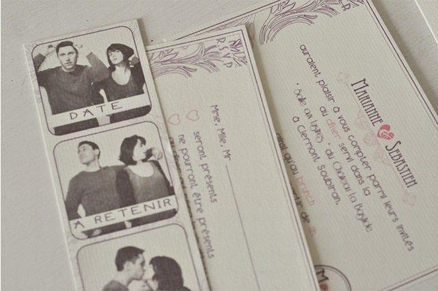 1000 images about faire part mariage on pinterest vintage handkerchiefs liberty and rustic wedding invitations - Faire Part De Remerciement Mariage Pas Cher