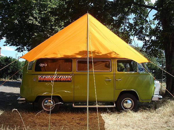 VW C&ervan Awning Sun Canopy - Orange & VW Campervan Awning Sun Canopy - Orange | VW??Bus? | Pinterest ...