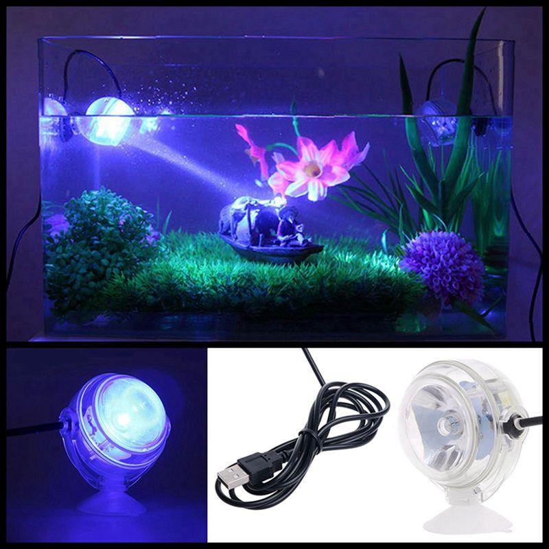 Led 110v A Lumiere Etanche Lampe Sous Marine Ue Prise D'aquarium shQtCdr
