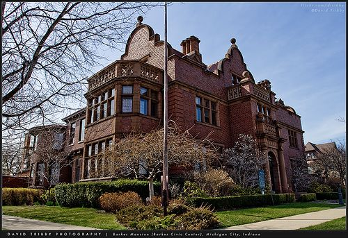 Barker Mansion, Michigan City, Indiana. I still remember my elementary school field trip here. :)