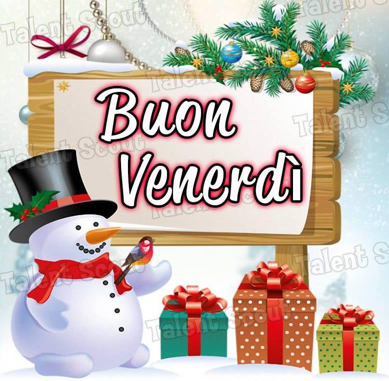 Buon venerd venerdi natale buongiorno pinterest for Immagini divertenti buongiorno venerdi