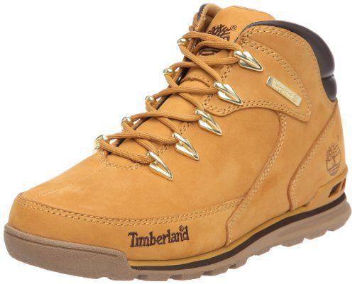 Timberland Zapatos de Cordones de Piel Para Hombre Marrón Marrón, Color Marrón, Talla 44 EU