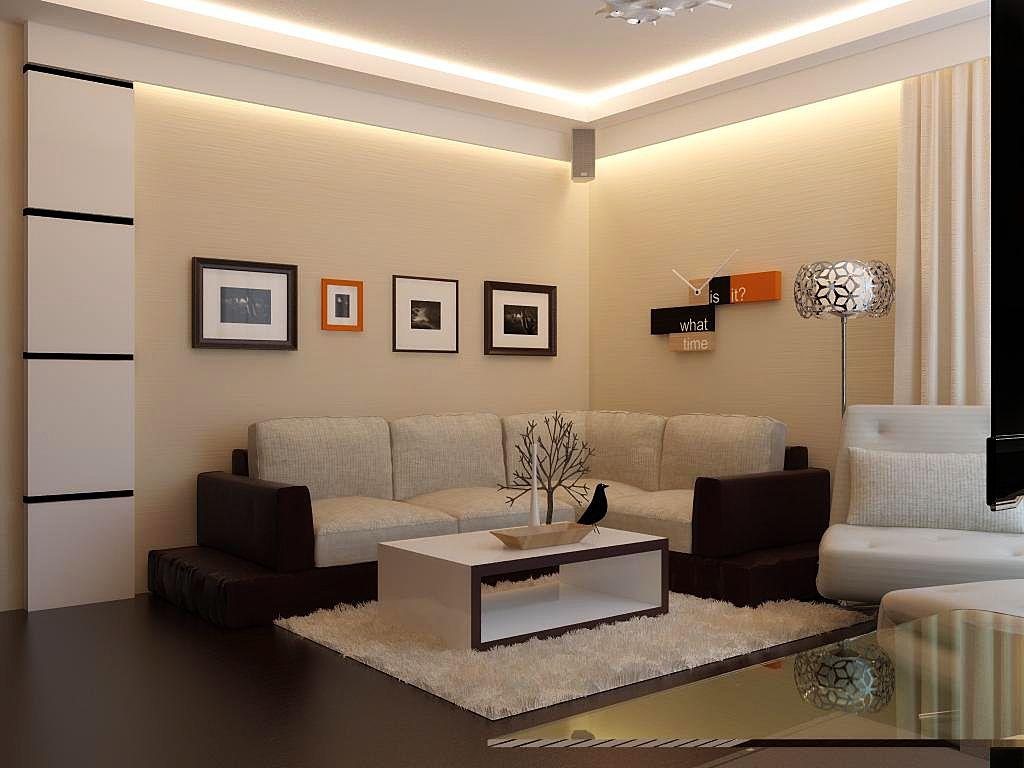 Desain Gambar Ruang Tamu Minimalis Modern Desain Cat Rumah