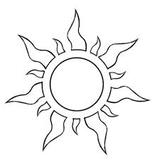 Resultado De Imagen Para Imagenes De Sol Para Imprimir