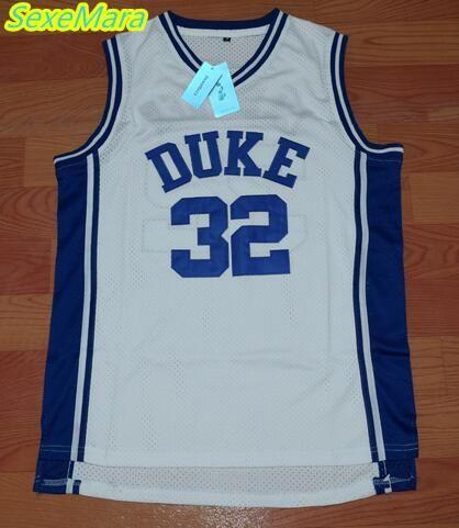 hot sale online d47d4 994ad Visit to Buy] SexeMara Christian Laettner 32 DUKE Basketball ...