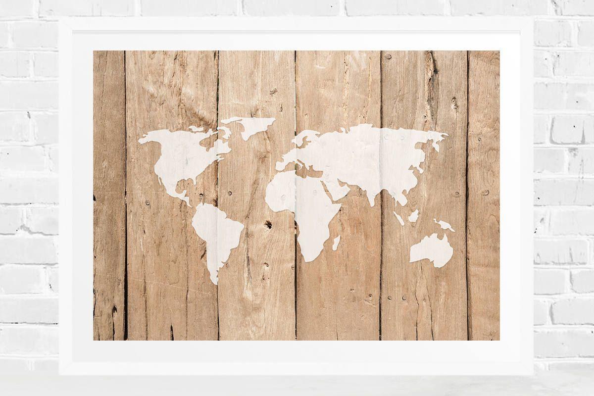 World map printable minimalist world map wood design print wooden world map printable minimalist world map wood design print wooden world map print gumiabroncs Image collections