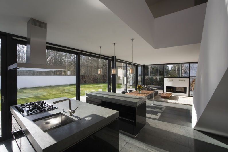 Großzügige Koch-Wohn-Esszimmer-Kombination | Haus | Pinterest | Wohn ...