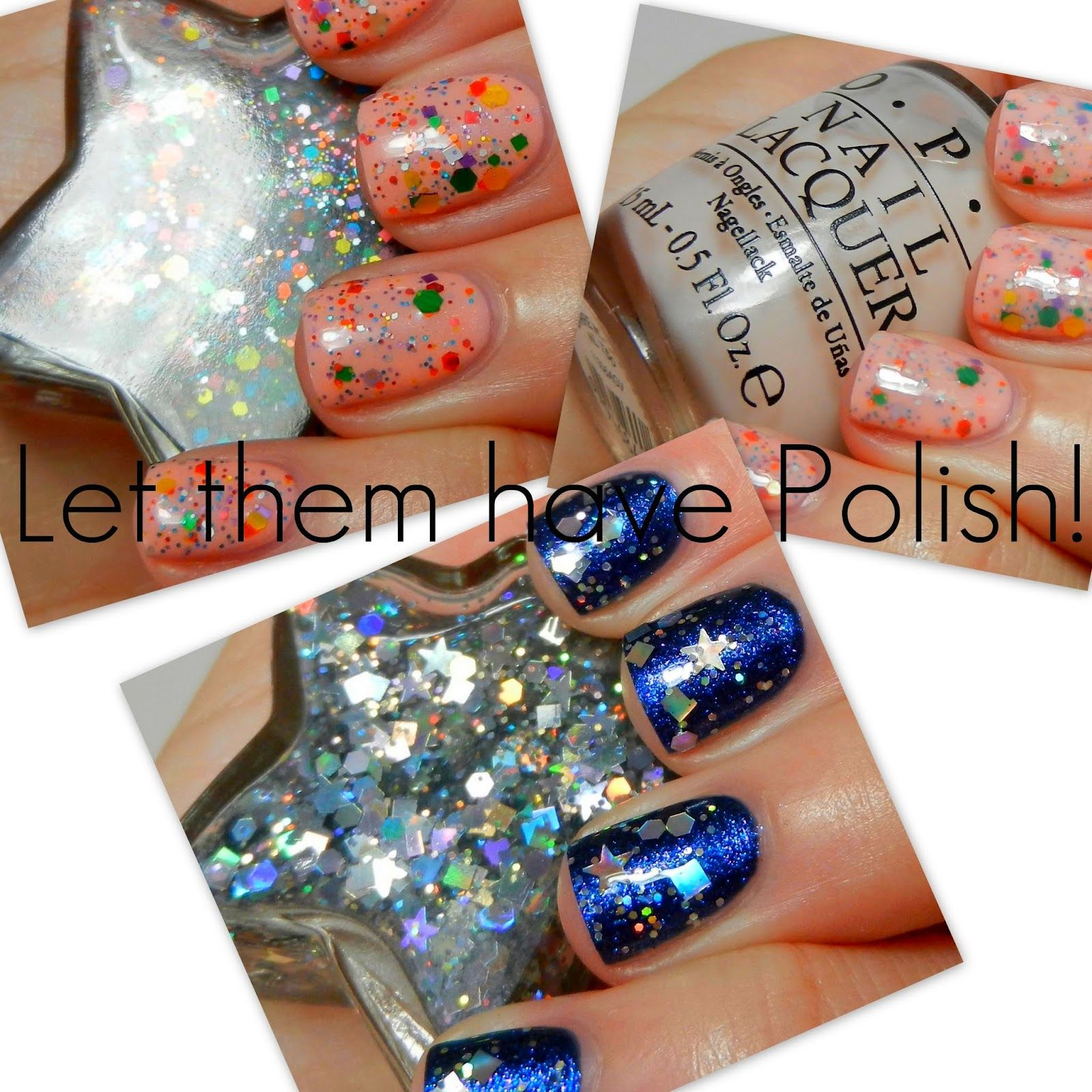 Happy Friday!!      Today I have some swatches of some super cute polishes from Etsy Shop JENsations. This shop is ran by a super sweet ...