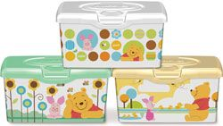 Huggies Baby Wipes Collector Tubs Featuring Winnie The Pooh