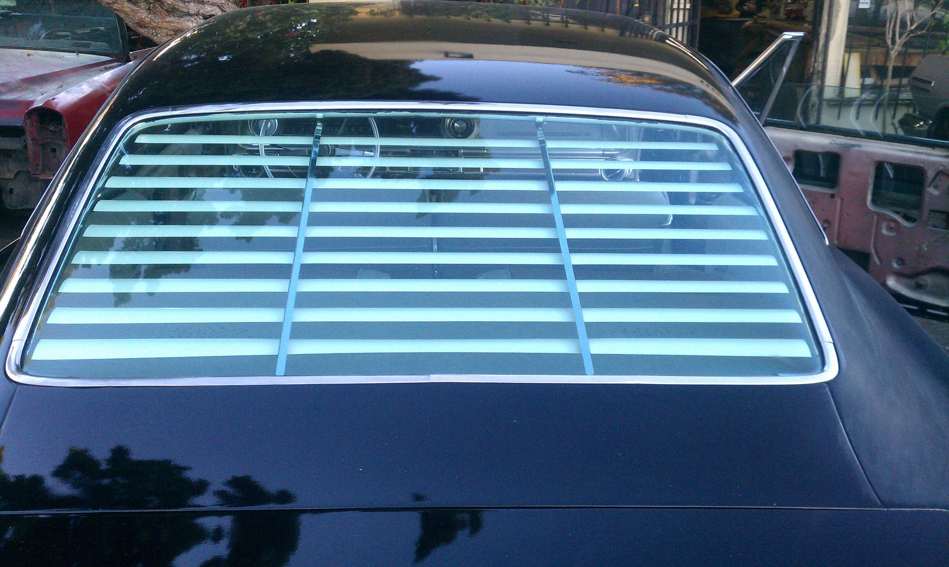 1965 1968 Chevy Impala Rear Venetian Blinds 1968 Chevy Impala Venetian Blinds Impala