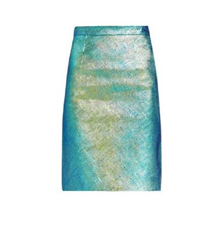 milly-ny-hologram-edith-leather-pencil-skirt