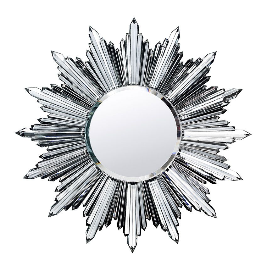 This Dazzling Sunburst Mirror From Baccarats Heritage Collection