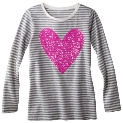 Cherokee® Girls' Embellished Tee - Assorted