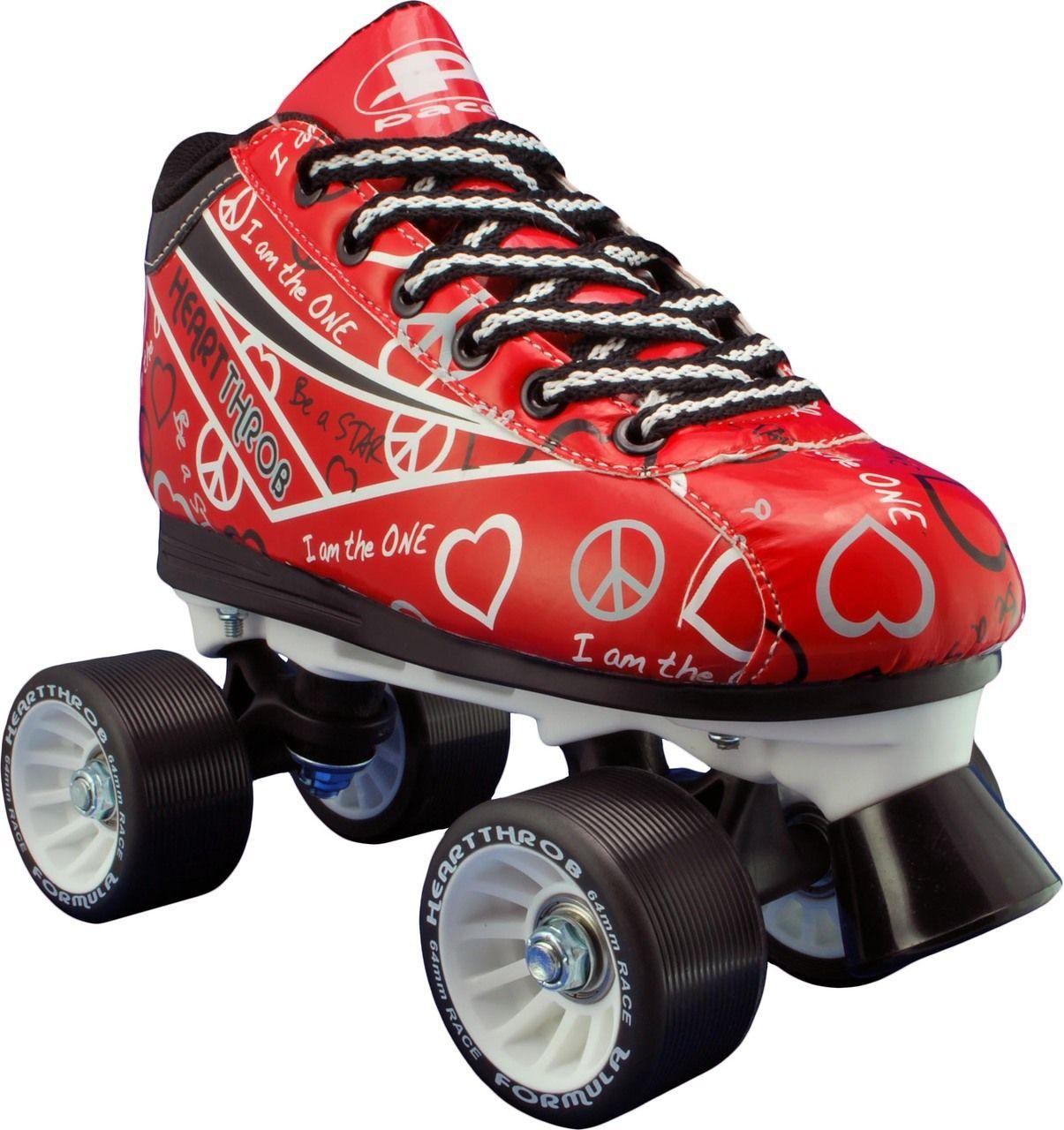 Quad roller skates amazon - Pacer Heart Throb Roller Skate Bad Girlfriend Skates Canadian Roller Derby Skate Superstore