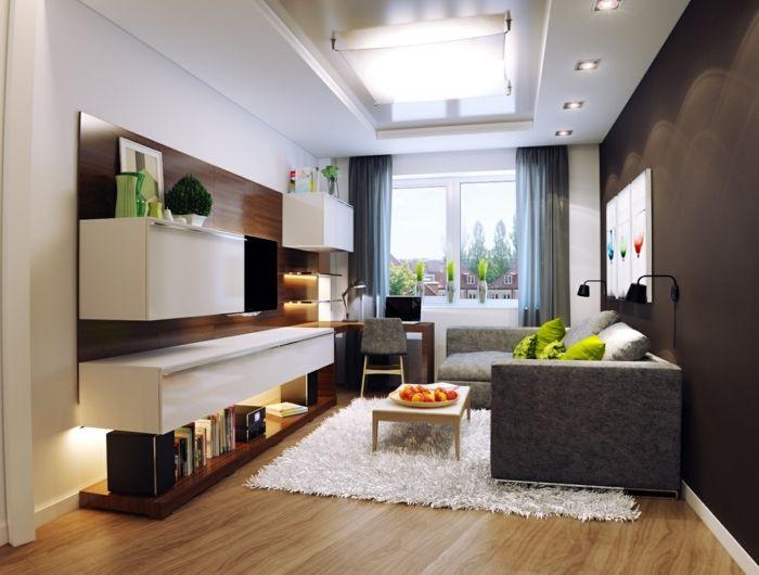▷ 1001 + Wohnzimmer Ideen für kleine Räume zum Entlehnen - kleines wohnzimmer ideen