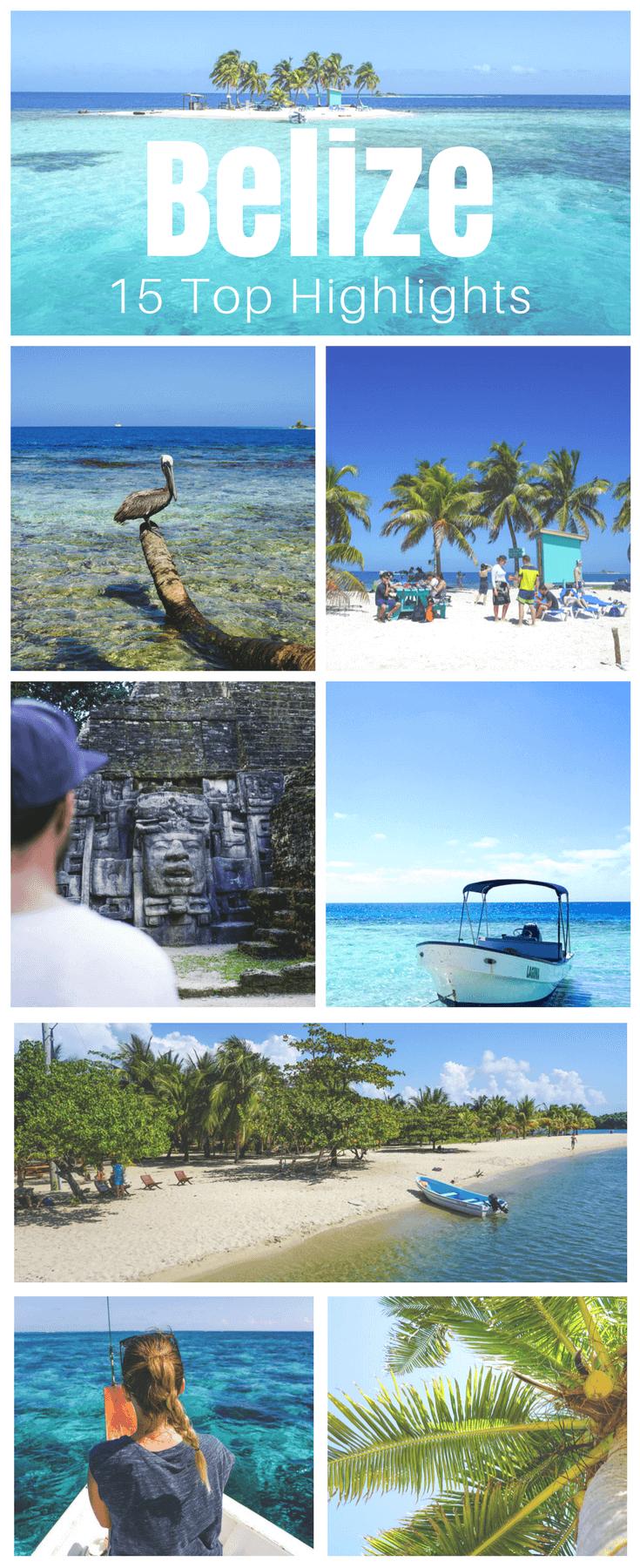 Belize Sehenswürdigkeiten - Die besten Highlights und Ausflüge #travelnorthamerica