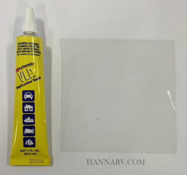 Pop Up Camper Clear Vinyl Window Repair Kit Camping