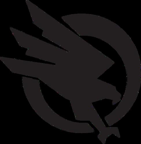 Bird Of Prey In The Circle Vector Illustration Public Domain Vectors In 2020 Free Word Art Birds Of Prey Vector Illustration
