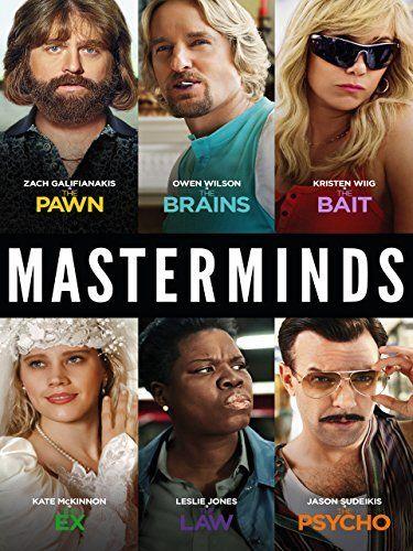 Amazon.com: Masterminds: Zach Galifianakis, Owen Wilson, Kristen Wiig, Ken Marino: Amazon   Digital Services LLC