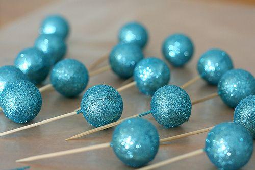 #Glitter Cake Pops