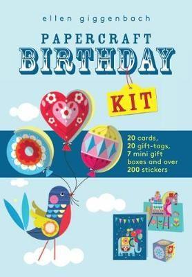Ellen Giggenbach Papercraft Birthday Kit Ellen Giggenbach Series Paperback Paper Crafts Birthday Gift Tags
