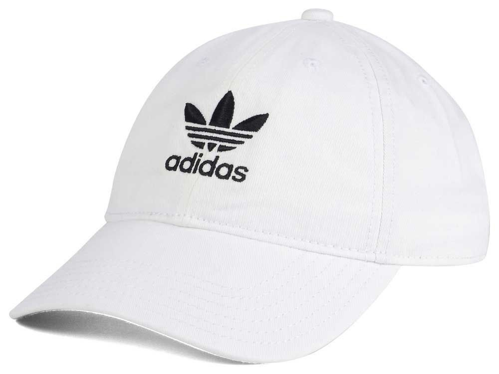 1e586252c08 NEW Adidas Originals Relaxed Strap-back Baseball Cap Hat Trefoil Logo ALL  White  fashion  clothing  shoes  accessories  mensaccessories  hats (ebay  link)