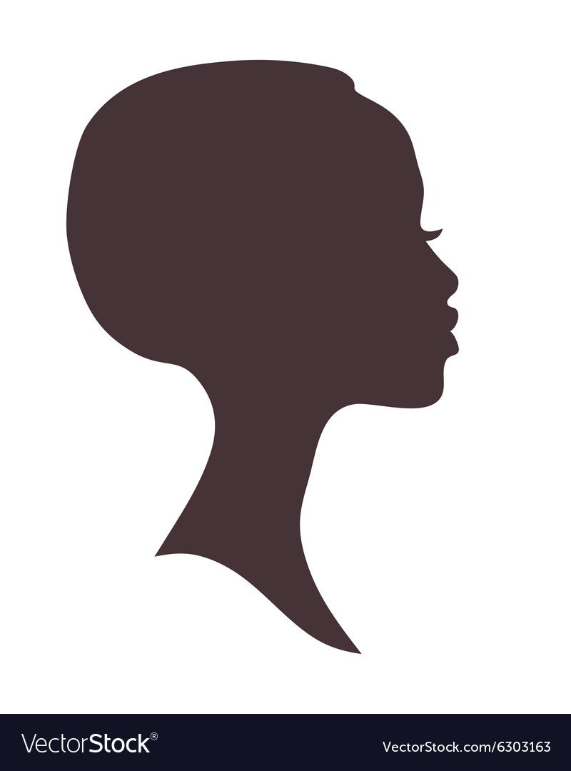 African Woman Face Silhouette Young Attractive Modern Girl Profile Sign Logo Download A Free Pre Woman Face Silhouette Black Woman Silhouette Silhouette Face