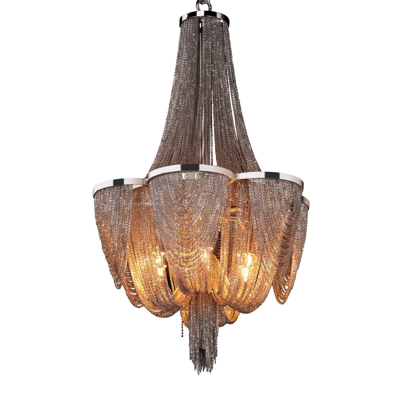 Maxim Lighting 21464 Chantilly 6-Light Chandelier - Lighting Universe  Width 14 inches   Height 22 inches   Weight 11.66lbs   790.00