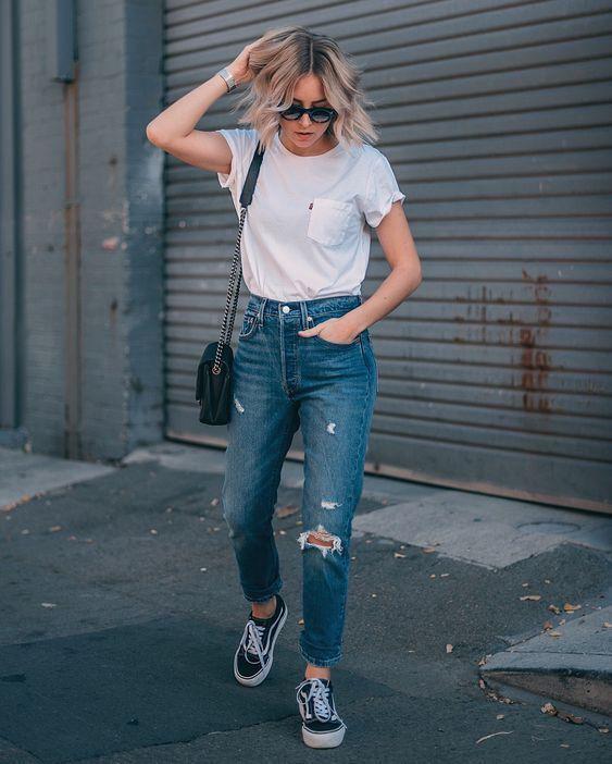 Comment porter un jean en été: 8 looks stylés pour inspirer   – Looks e Tendências ♡