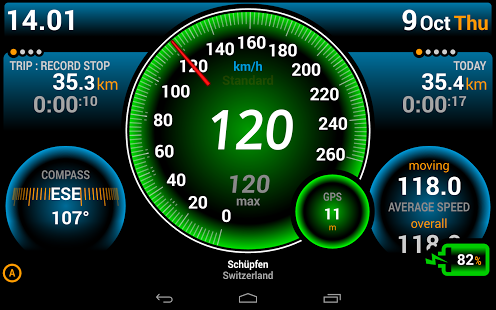 AndroidWorld Ulysse Speedometer Pro v1.9.9.1 Software