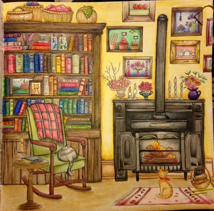 Romanticcountry Romanticcountry1rsttale Fireplaceroom