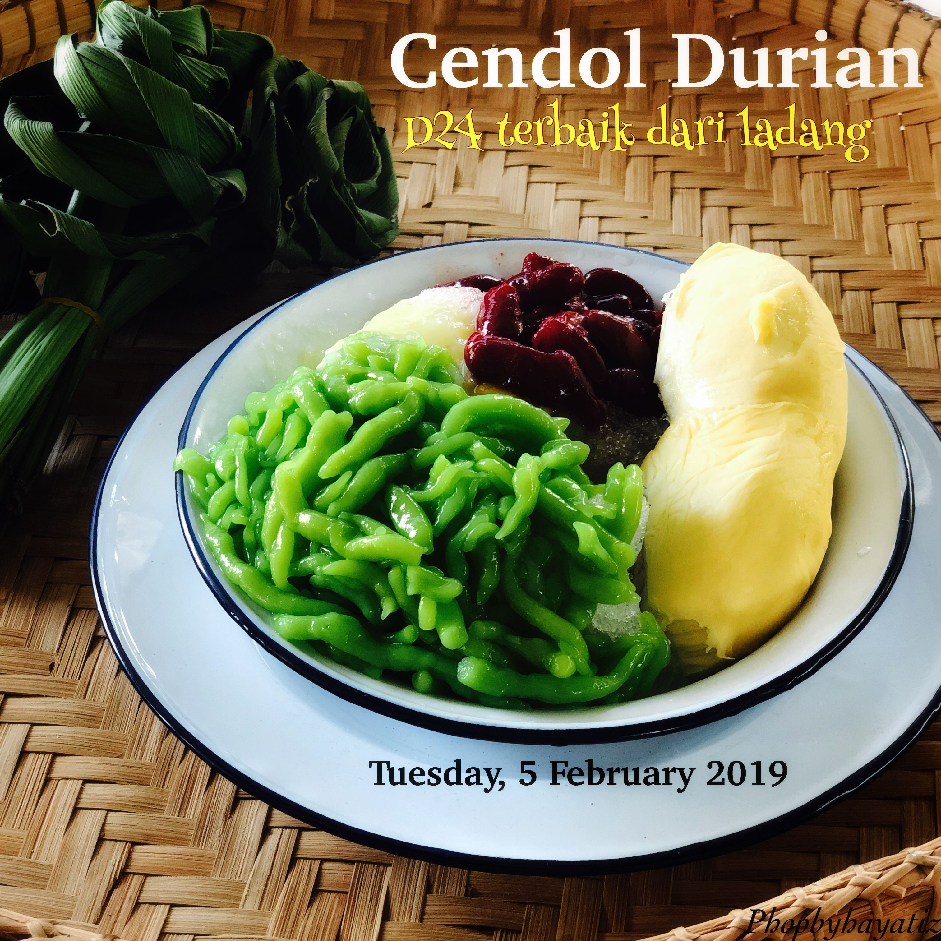 Cendol Durian Durian Food Vegetables
