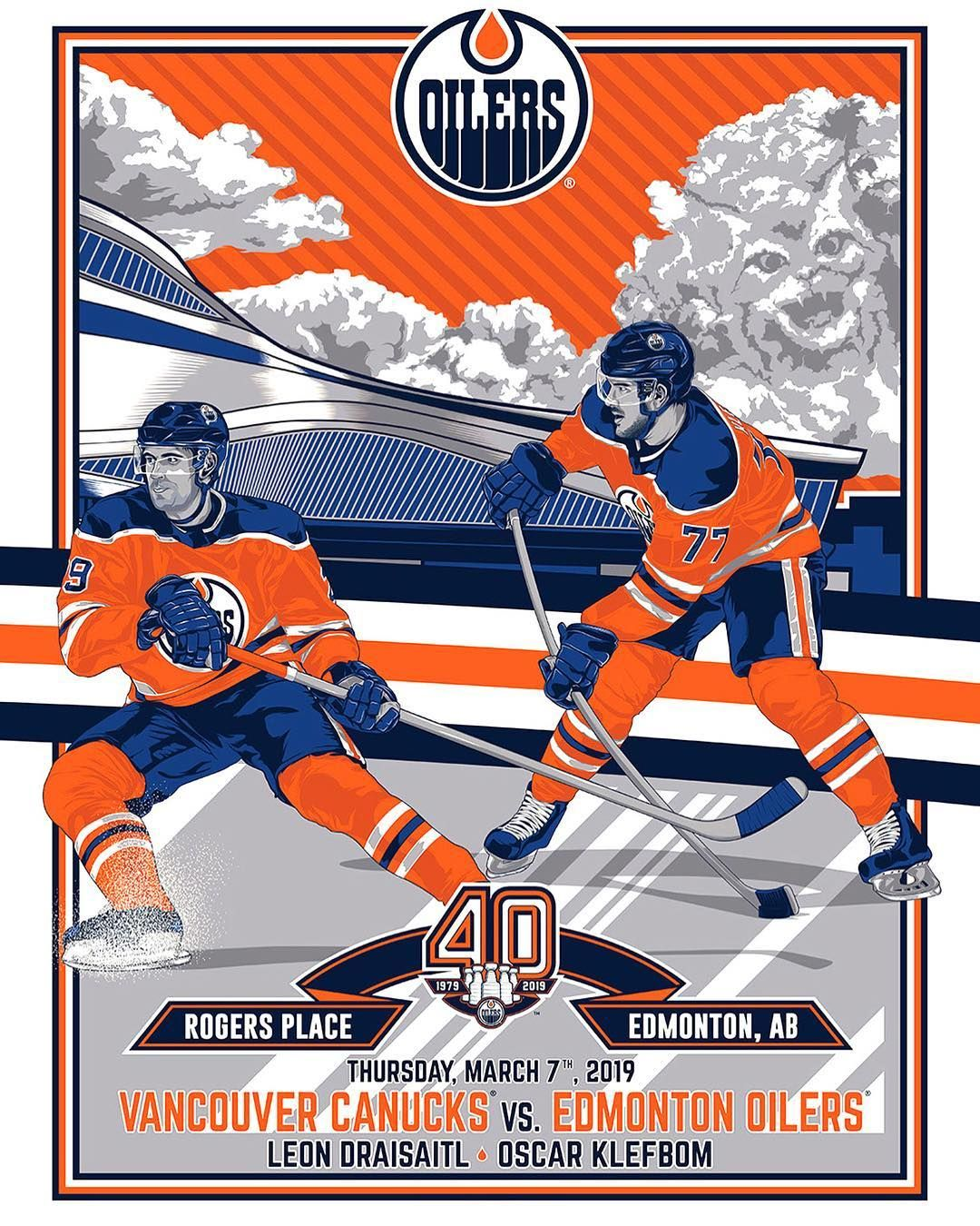 Edmonton Oilers On Instagram Tomorrow S Game Against Vancouver Is Our Last Retro Night Of The Season The Oilers Will Be Wearing Blue Jerseys Our Fourth