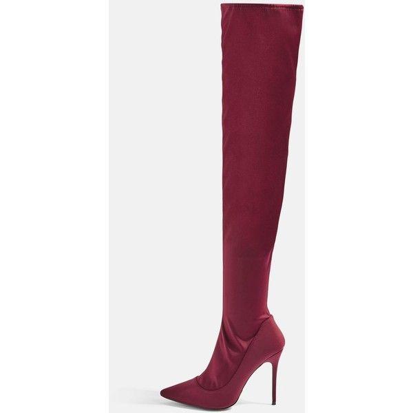 1f933190c6c Topshop Bellini Over the Knee Sock Boots (4