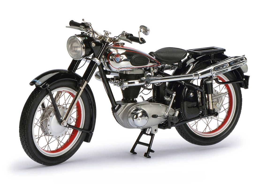 Schuco 1 10 Horex Regina Diecast Model Motorcycle 06582 This Horex Regina 350 Diecast Model Motorcycle Is Black And Feat Motorcycle Model Motorcycle Motorbikes