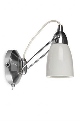 Shorditch Porcelain Wall Light with Switch SALE from 50 to 35