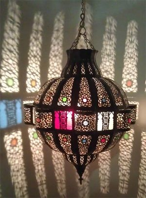Moroccan Kora chandelier